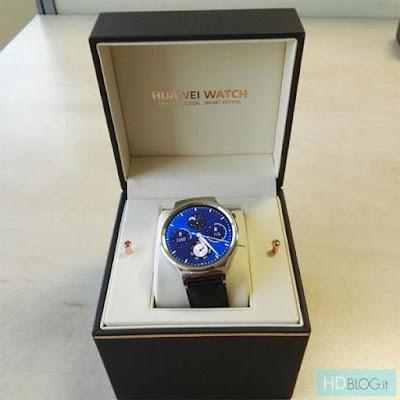 Huawei Smart Watch Cardboard Gift Box - Open