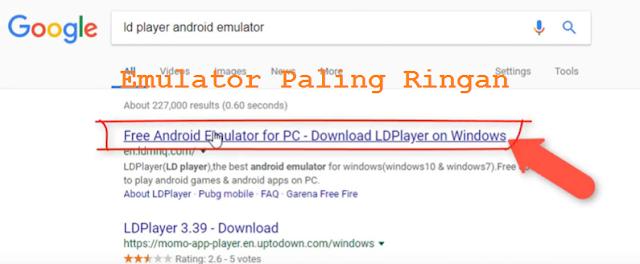 emulator terbaik untuk main game free fire