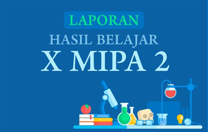 RAPOR X MIPA 2
