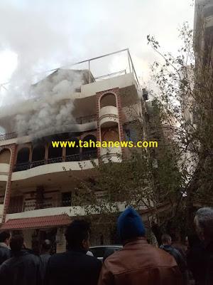 وفاة والد ايهاب توفيق بسبب حريق منزلة |  فيديو حريق منزل ايهاب توفيق