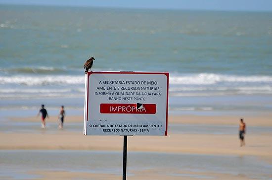 Todas as praias de São Luís estão impróprias para o banho