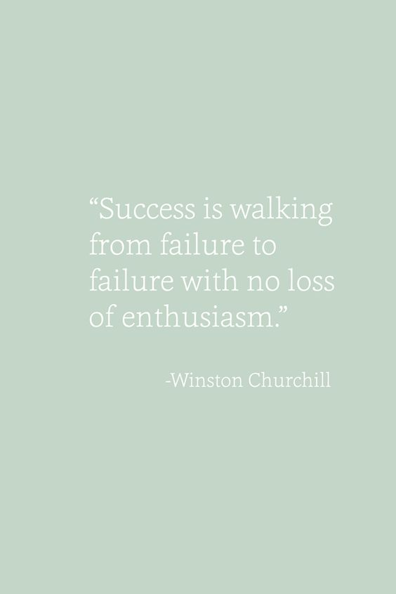 What Cat Says | Failing And How It Led Me To Success - Failure Quote