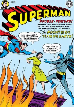 Primer encuentro entre Superman y Batman