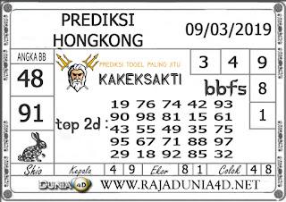 Prediksi Togel HONGKONG DUNIA4D 09 MARET 2019