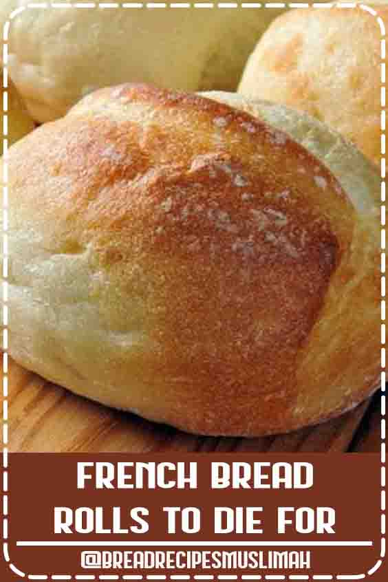 French Bread Rolls ~ Very easy to make and so tasty! even for someone who is a bread novice. #Yeast #Bread #Recipes #texture