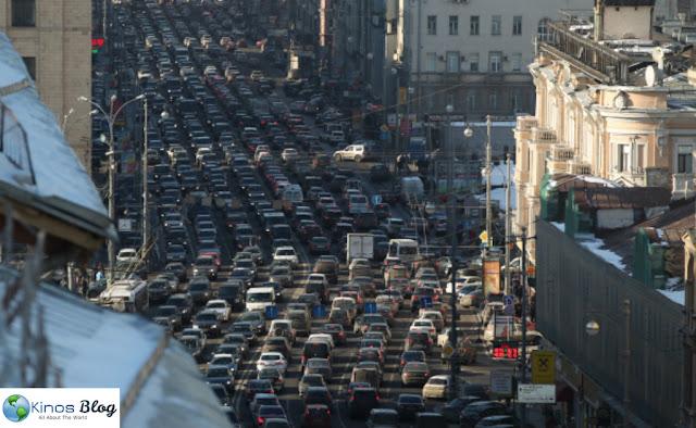 10 Kota Dengan Lalu Lintas Terburuk di Dunia
