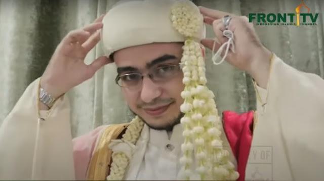 Sosok Irfan Alaydrus, Menantu Habib Rizieq