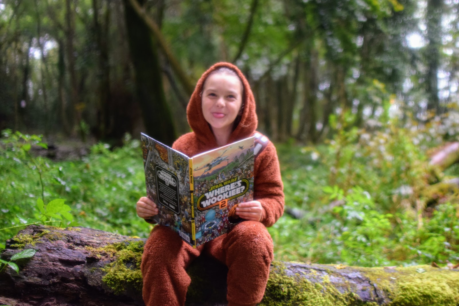 , Playing Where's The Wookiee at Withybush Woods:  Win Where's The  Wookiee? Books 1 & 2