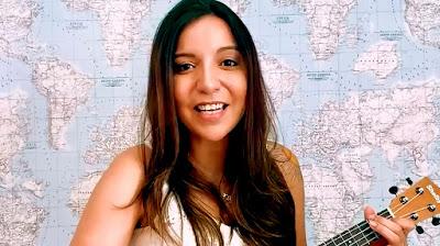 A cantora e compositora Bruna Ene no vídeo da campanha - Divulgação