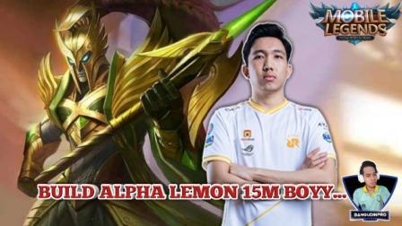 Build Alpha Lemon Strongs