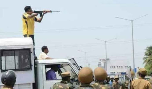 Police Firing In Sterlite Protests Kills Many Innocent Citizens