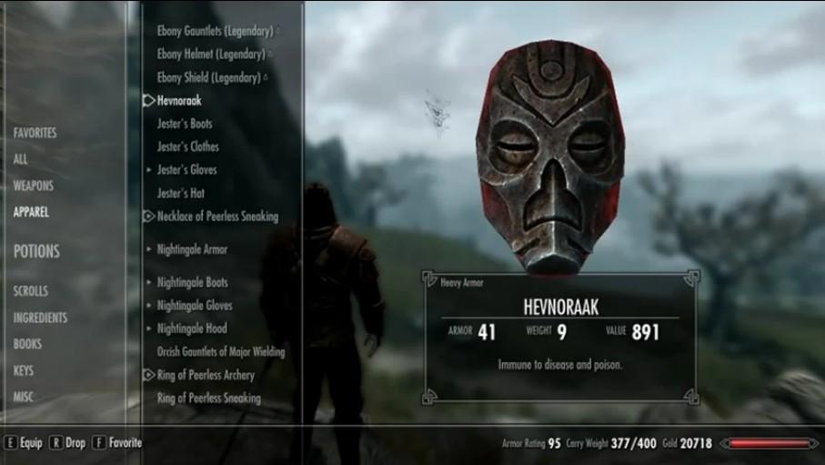 Interface Design The Elder Scrolls V Skyrim Interface