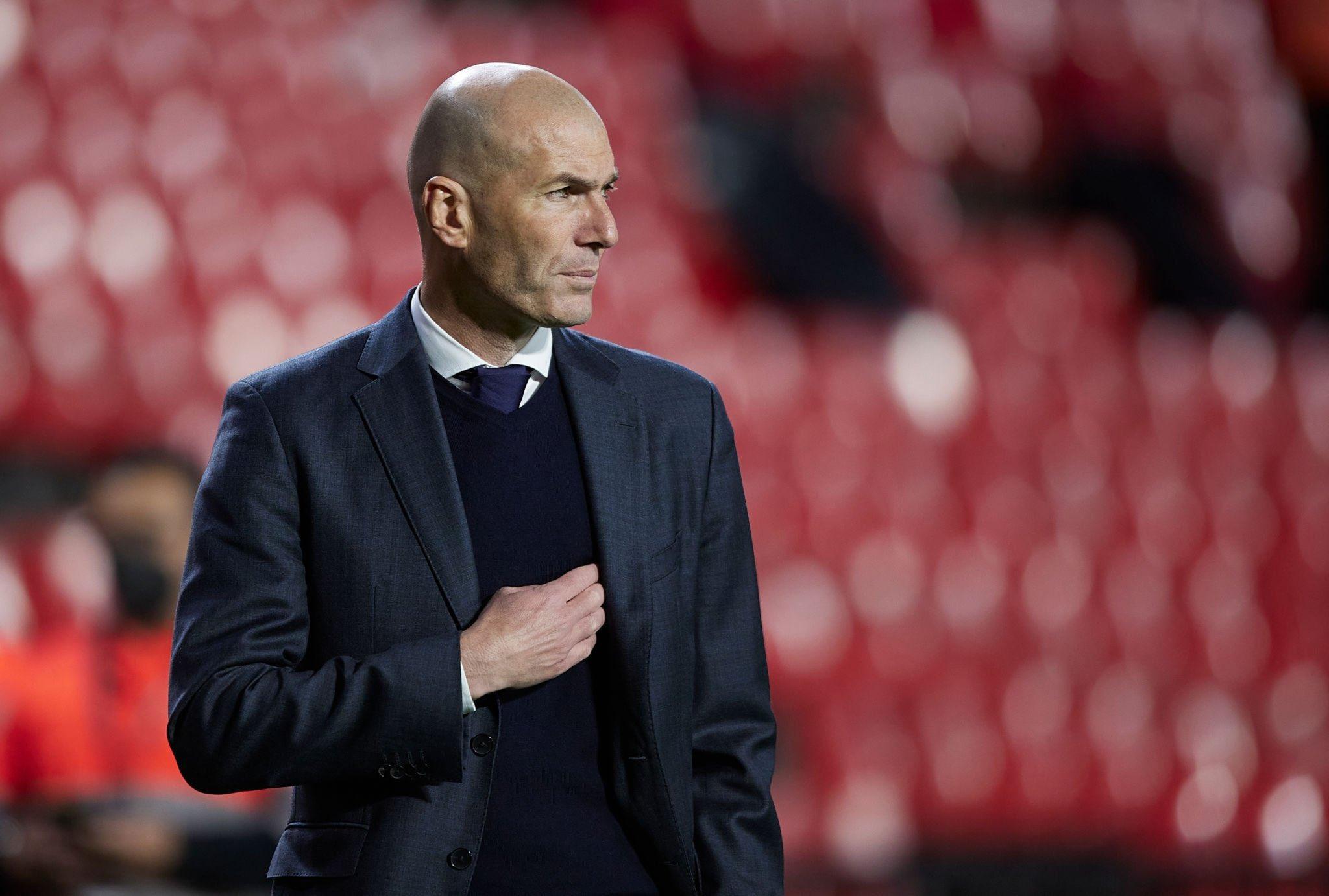 اعلان رحيل زيدان عن ريال مدريد