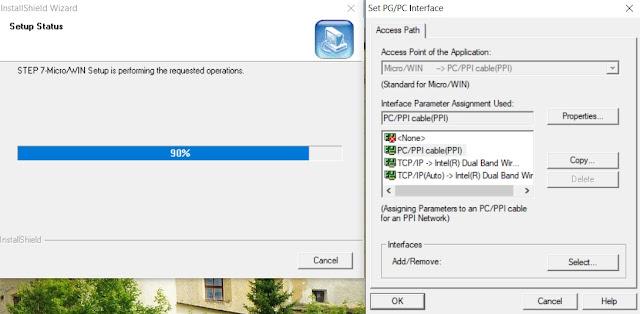 cài đặt STEP 7 MicroWIN V4.0 Full - Windows 10 64bit