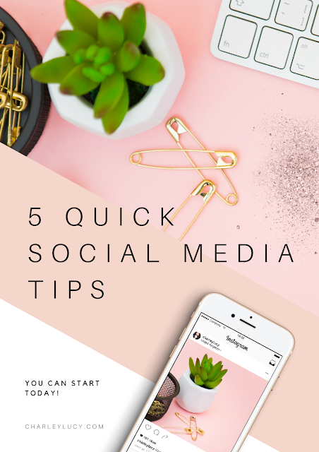 5 Quick Easy Social Media Tips, Blogger, Social Media Help, Small Biz, Facebook, Twitter Tips, How to get more Engagement, Grow your Following.png