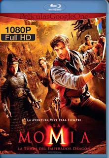 La Momia: La Tumba del Emperador Dragón (2008)[1080p BRrip] [Latino-Inglés] [Google Drive] chapelHD