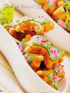 Resep Kue - Cheese Carrot Cookies