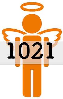 1021 の エンジェルナンバー の意味