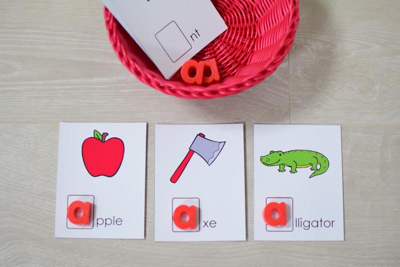 Alphabet Curriculum: Introducing Letters