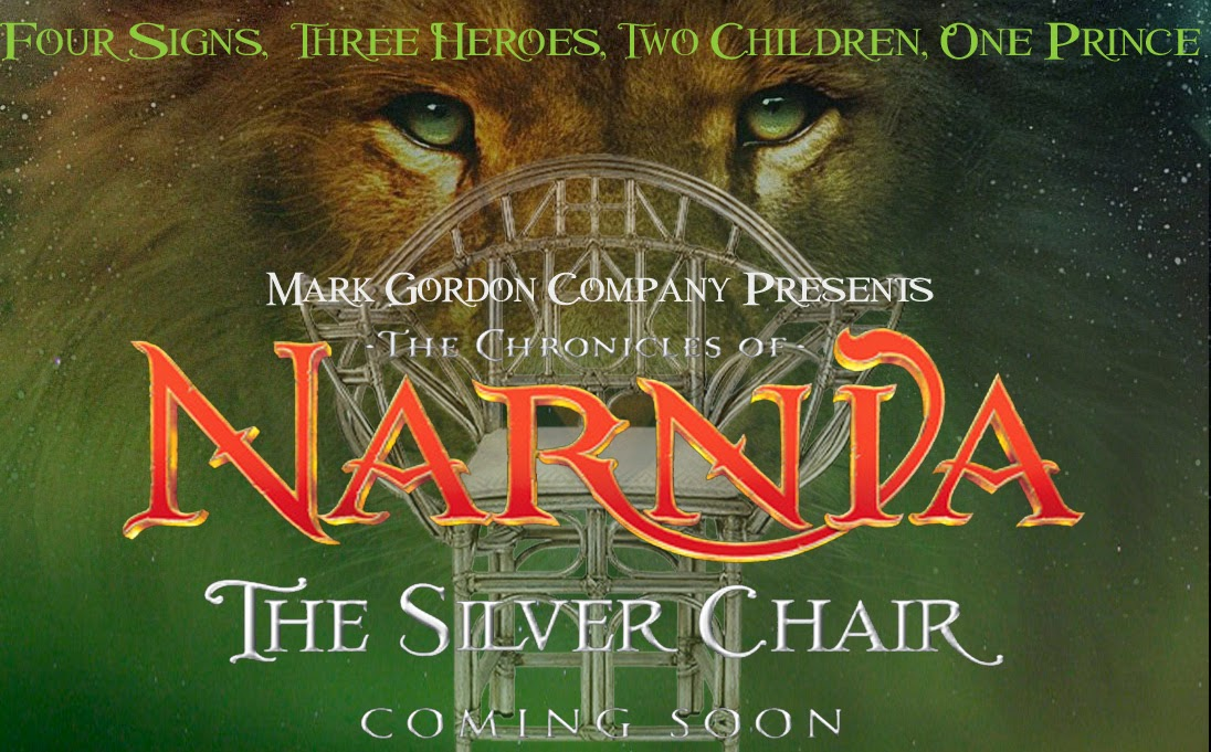 The Silver Chair Movie 2015 Metal Desk Narnia Continent Chronicles Of One Inch Closer To Be A Film