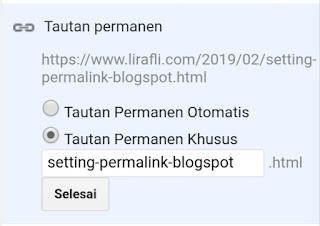 Cara Setting Permalink Blogspot Agar Lebih SEO Friendly