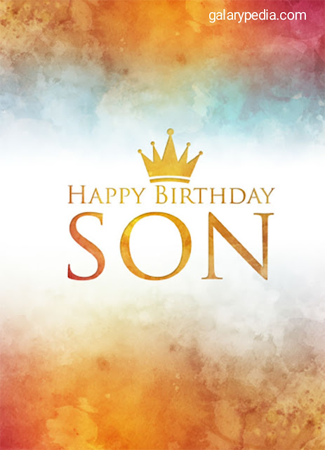 Son birthday images