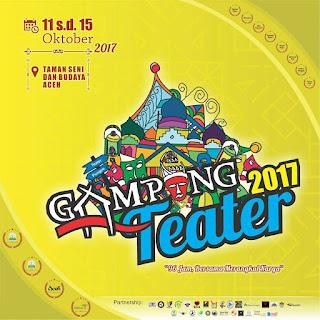 """Deklarasi """"Lon Teater"""" Warnai Pembukaan Gampong Teater Aceh 2017"""