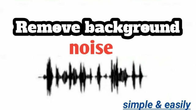 removing noise from audio