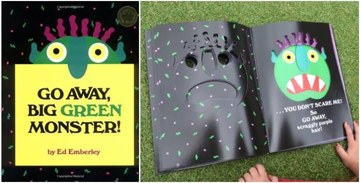 los mejores cuentos y libros infantiles en inglés Go away, big green monster