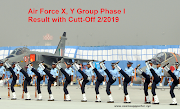 Air Force X, Y Group Phase I Result with Cutt-Off 2/2019