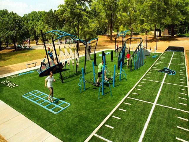 Khu thể thao, vui chơi trẻ em trong và ngoài dự án