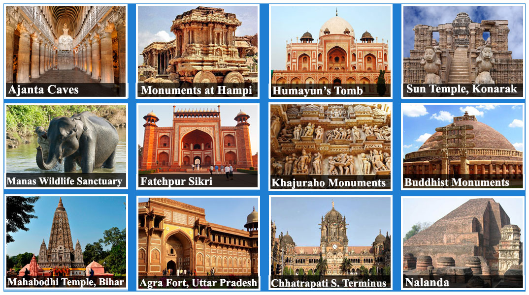 Unesco world heritage sites for World heritage site list