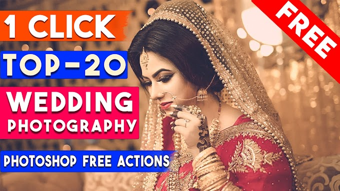 TOP-20 Professional Wedding Photography Effects in Photoshop Actions