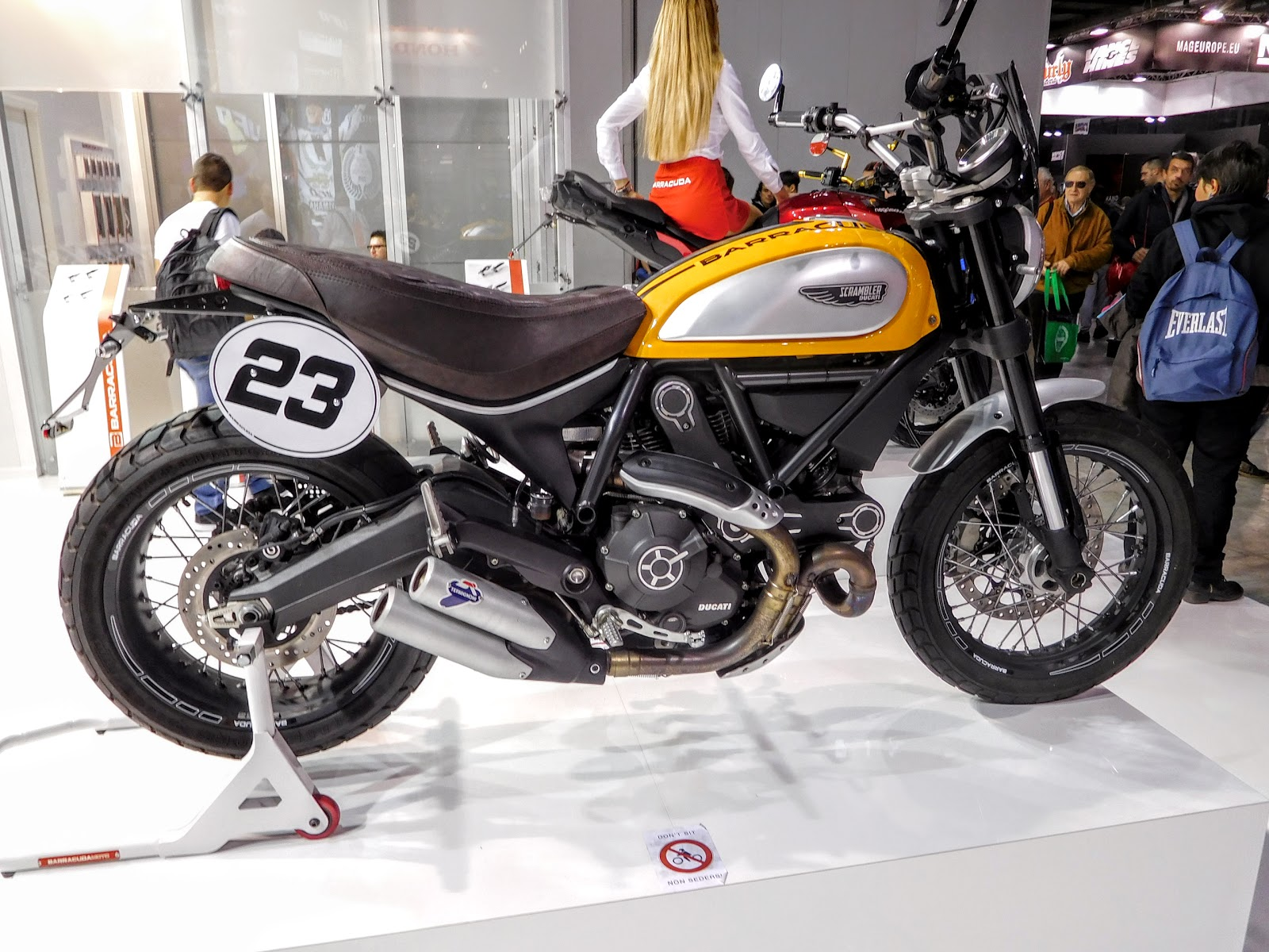 NYDucati: Barracuda modified Ducati Scrambler