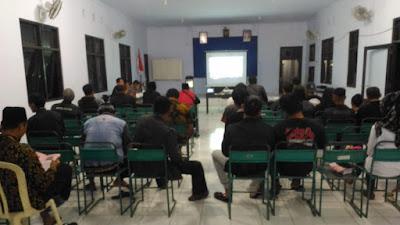 Panitia Pemilihan Kecamatan Pituruh, Gelar Nonton Bareng Debat Presiden Ke Dua