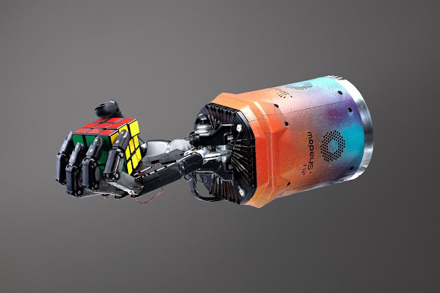 This Robot Can Now Solve a Rubik's Cube with One Hand