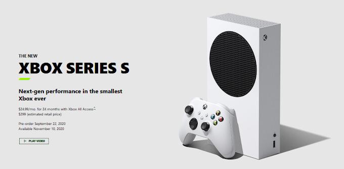 Spesifikasi lengkap Xbox Series S, Konsol termurah dari Microsoft