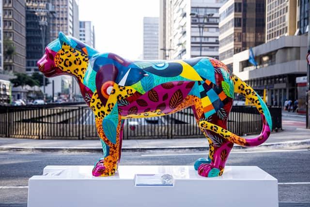 Mais tempo para os artistas mineiros se inscreverem para pçarticipar da Jaguar Parade BH 2021 - intervenção artística urbana que reúne esculturas de onças-pintadas estilizadas.