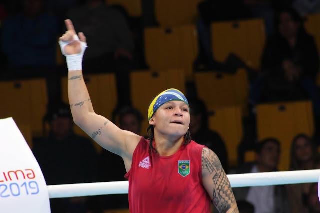 Beatriz Ferreira é favorita ao ouro no boxe na Olimpíada