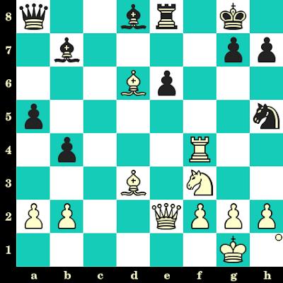 Les Blancs jouent et matent en 2 coups - Grigory Serper vs Alexei Shirov, Moscou, 1991