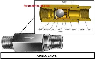 fungsi check valve