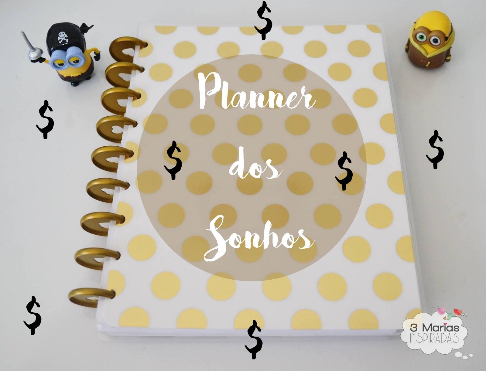 O planner dos sonhos que cabe no seu bolso 3 marias for Planning mural 2017