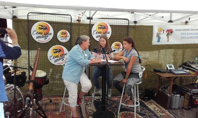 Interview par les Jeunes Reporters de Bourgueil