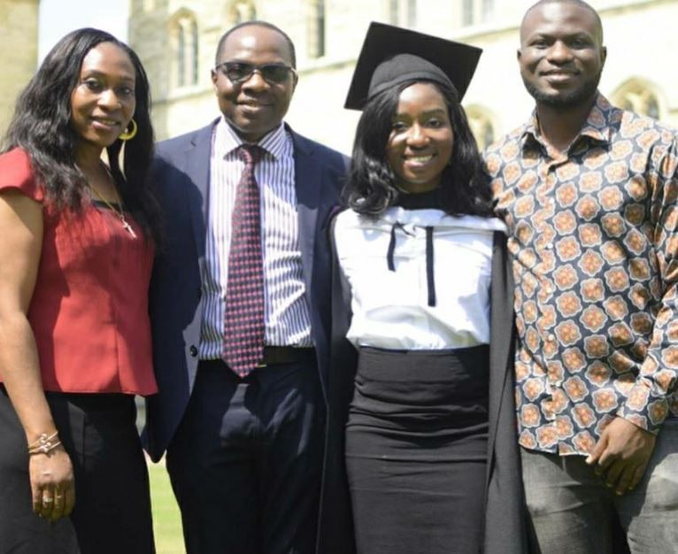 Olakunle Churchill's sister graduates with 1st Class from Oxford University