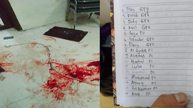 Bentrok dengan Polisi, Koordinator Sebut Bercak Darah di Markas GPII akibat Kader Dipopor Senjata