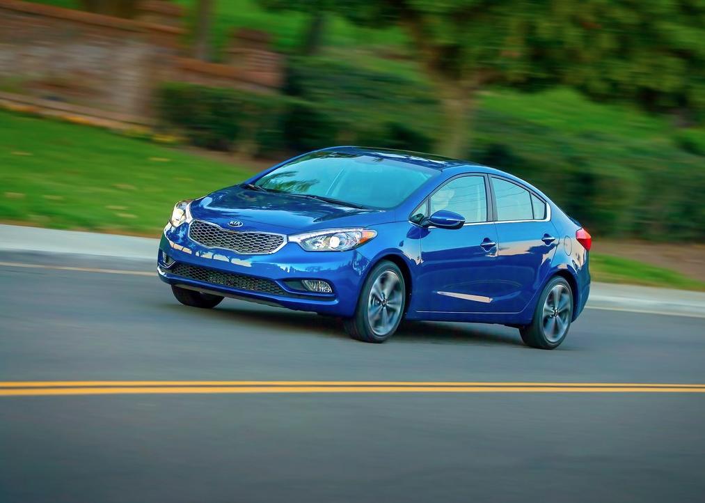 2014 Kia Forte blue