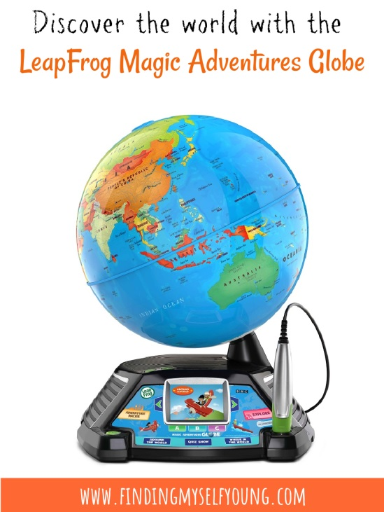 discover the world with the leapfrog magic adventures globe