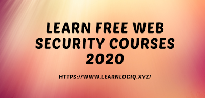 Learn Web Security With Free Courses 2020