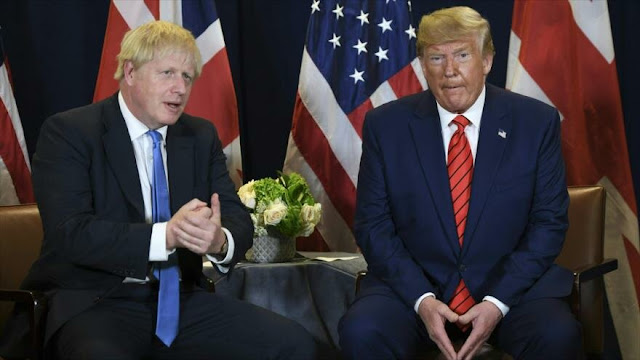 Johnson pide a Trump no frustrarle la reelección con su apoyo