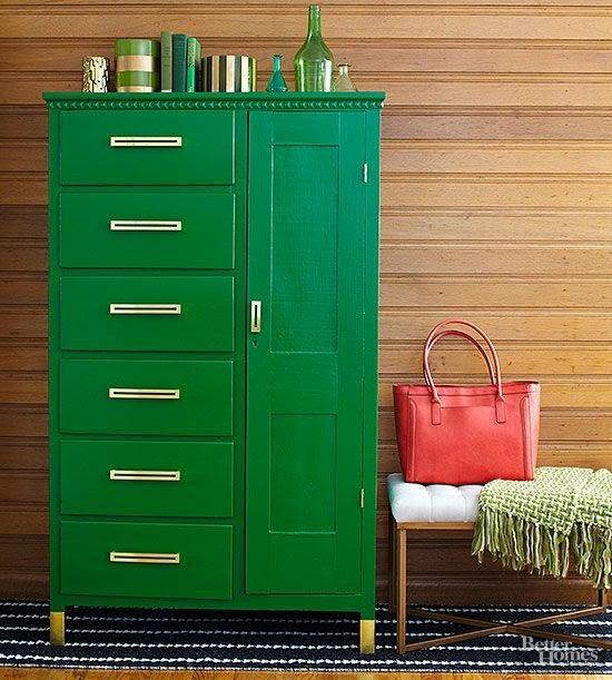 Decoração com verde esmeralda